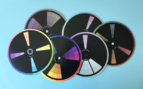 The three best color wheels for decorating and choosing a color scheme for your home. Click to read why these are my favorite and where you can get them.