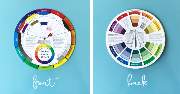 My three favorite color wheels for decorating school of - Color wheel interior design ...