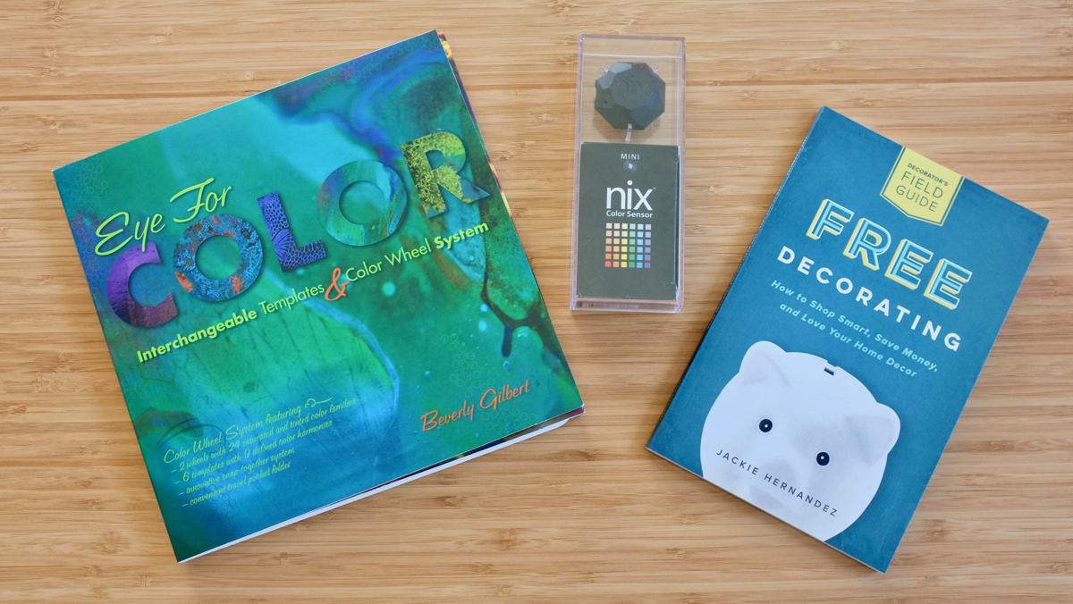 Enter to win School of Decorating's favorite color tools for decorating - a Nix Mini Color Sensor and the Eye for Color System.
