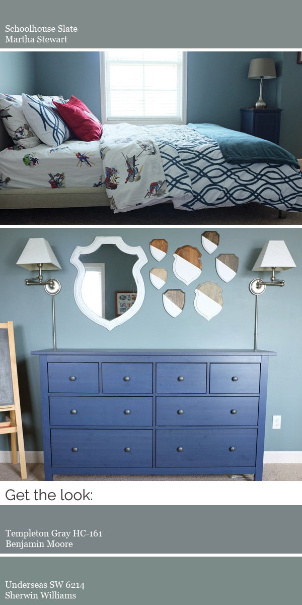 Create a modern whole house color scheme. Try a darker color for a cozy bedroom.