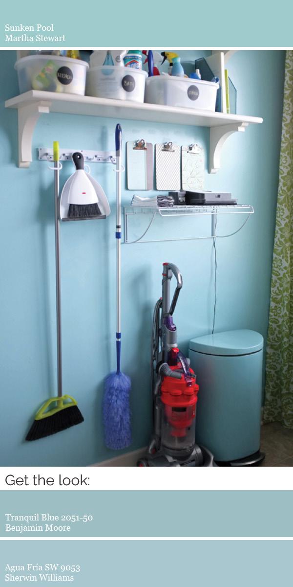 Our Paint Colors Modern Whole House Color Scheme - Martha stewart bathroom colors