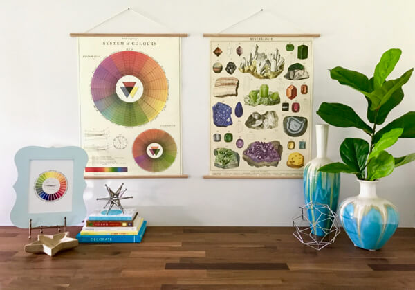 Where to find budget-friendly vintage-style school charts