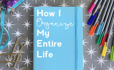 How I Organize My Entire Life with a Brainbook