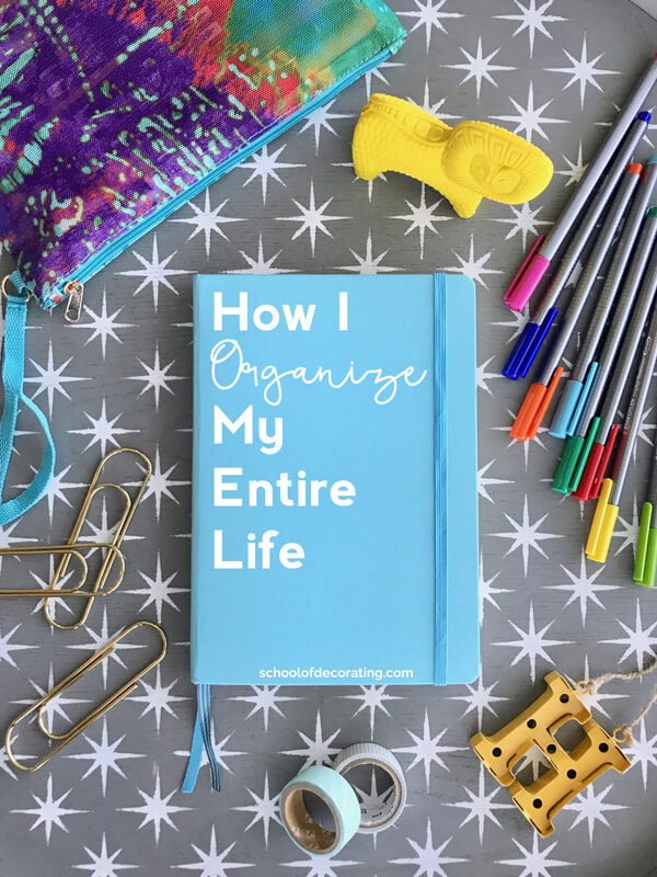 How I organize my entire life with the Brainbook bullet journaling