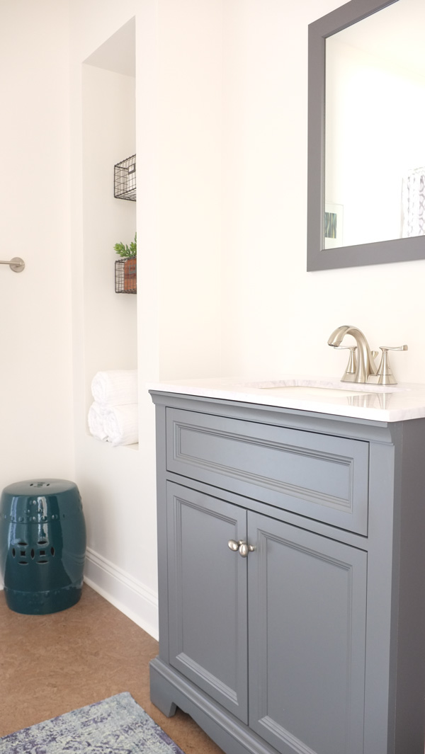 Our New Designer Bathroom on a DIY Budget - School of Decorating