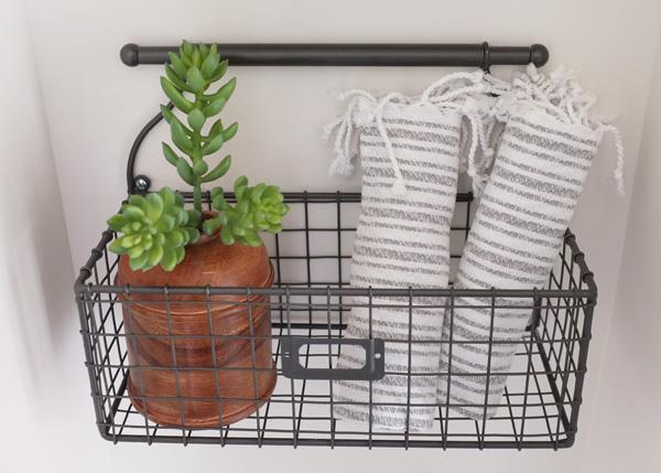 Bathroom Wall Basket School Of Decorating, Bathroom Wall Baskets